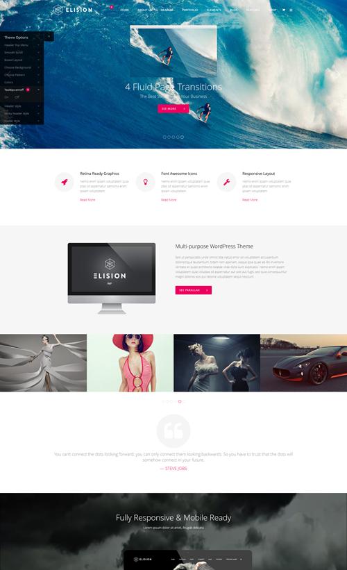 Elision WordPress Theme