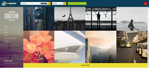 Coastline WordPress Theme