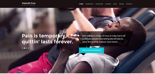 Fitness WordPress Theme Collection