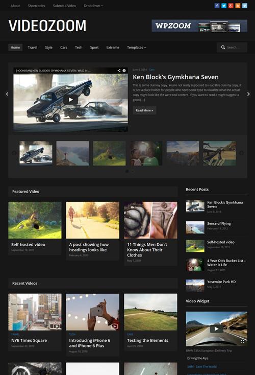 Responsive Video WordPress Theme – Videozoom 4.0 | Best WordPress Themes