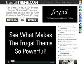 Frugal Theme
