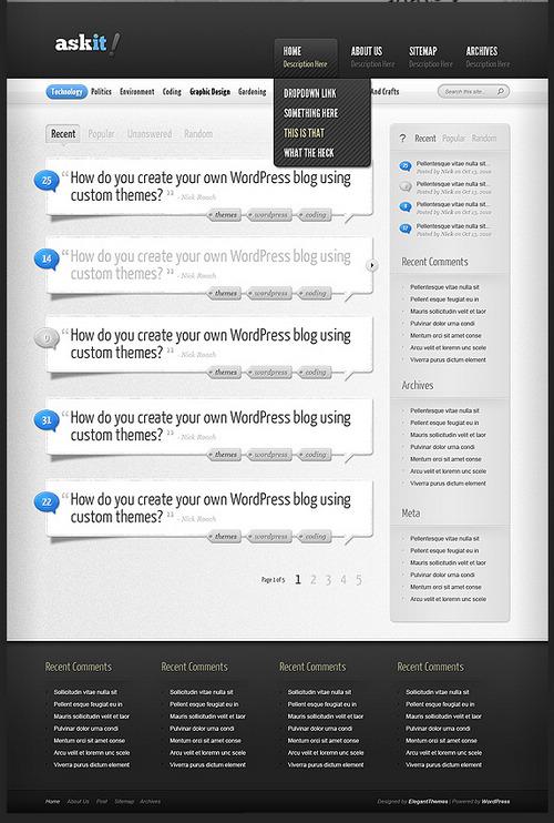 AskIt Premium WordPress Theme