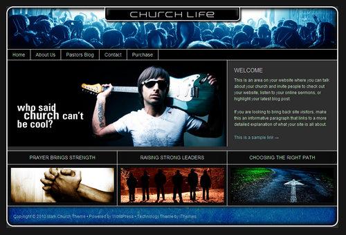 Life Theme Series - Church WordPress Theme