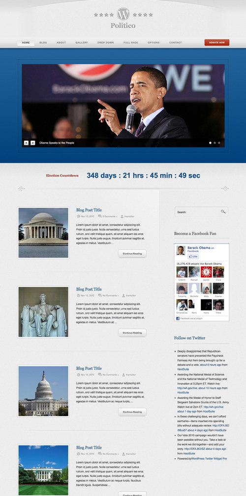 Politico Premium WordPress Theme