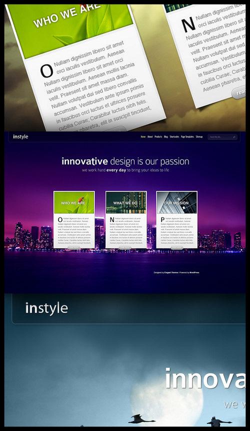 InStyle Premium WordPress Theme