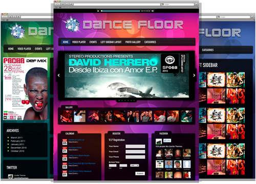 Dance Floor Color Styles