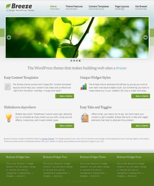Breeze Business & CMS WordPress Theme