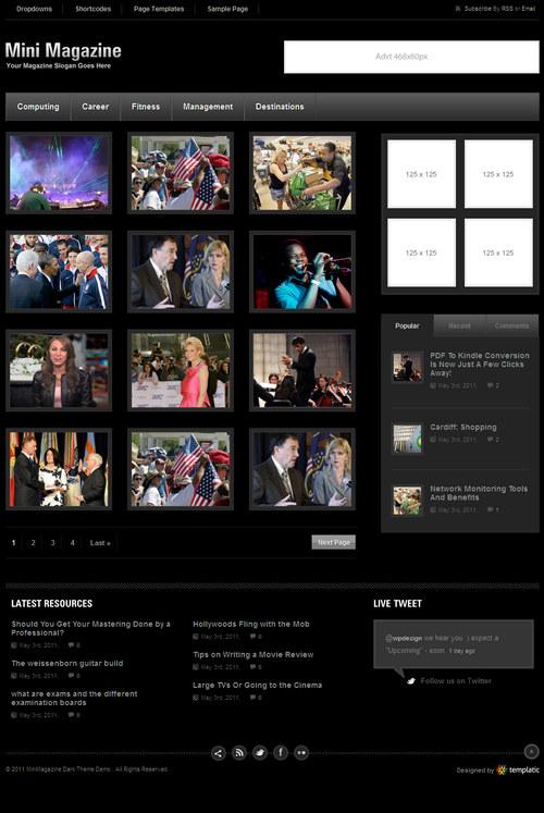 MiniMagazine Dark Premium WordPress Theme