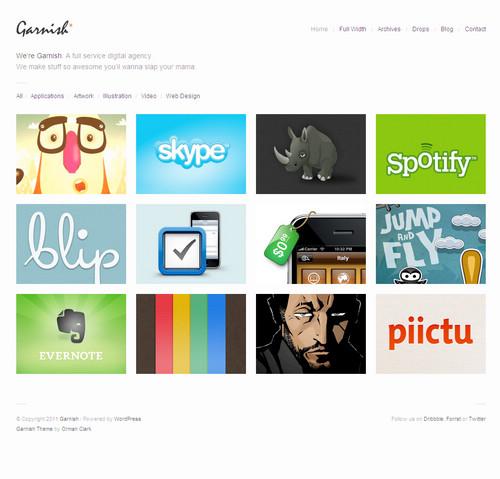 Garnish WordPress Theme