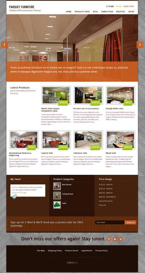 Parquet WordPress Theme