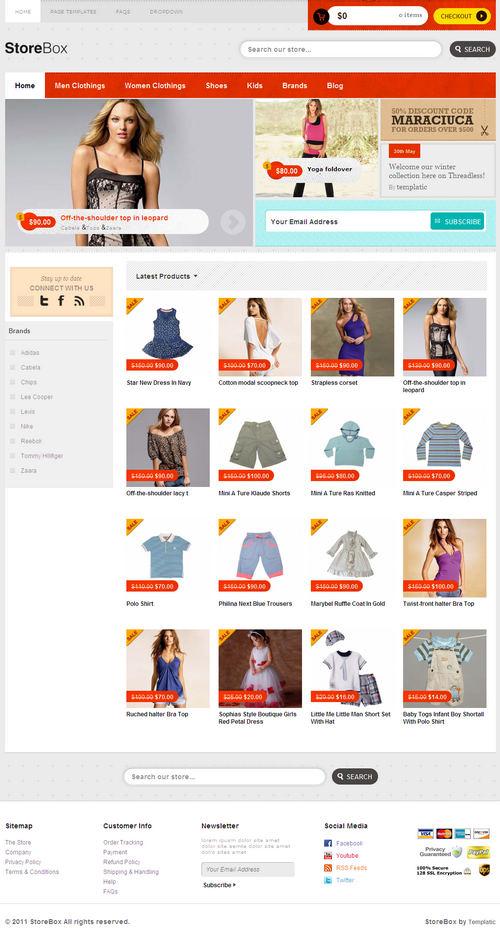 StoreBox Ecommerce WordPress Theme