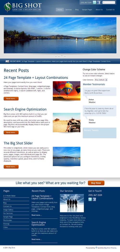 Big Shot WordPress Theme
