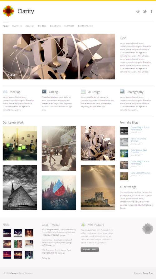Clarity WordPress Theme