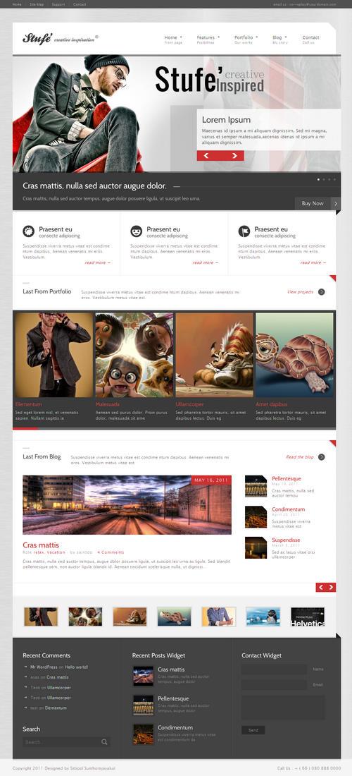 Stufe' WordPress Theme