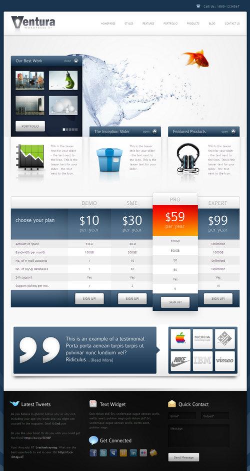 Ventura WordPress Theme