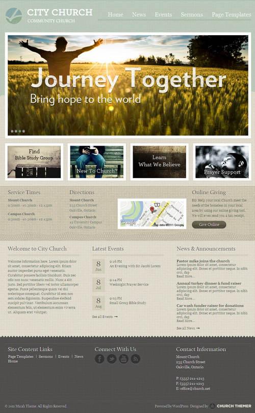 Micah WordPress Theme