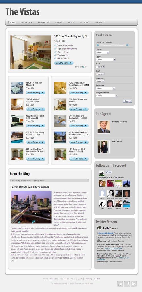 Vistas WordPress Theme