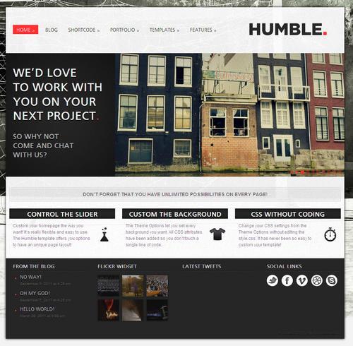 Humble WordPress Theme
