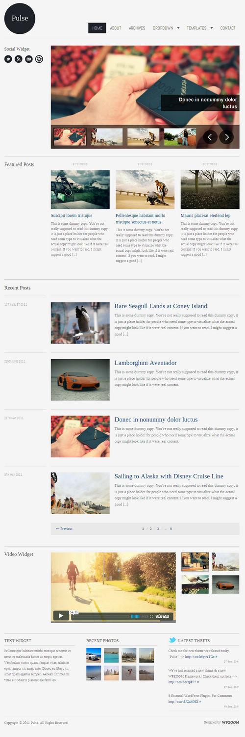 Pulse WordPress Theme