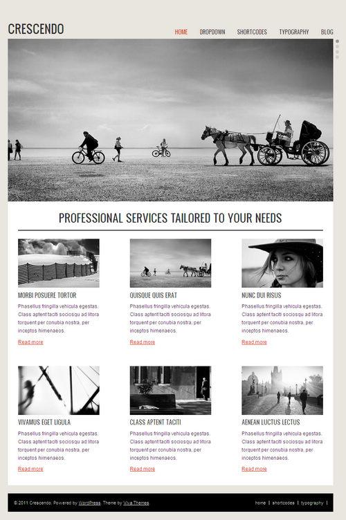 Crescendo WordPress Theme