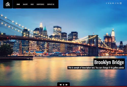 DK WordPress Theme