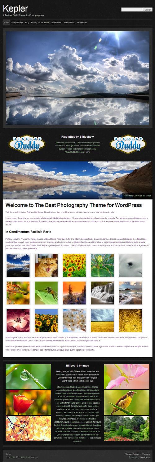 Kepler WordPress Theme