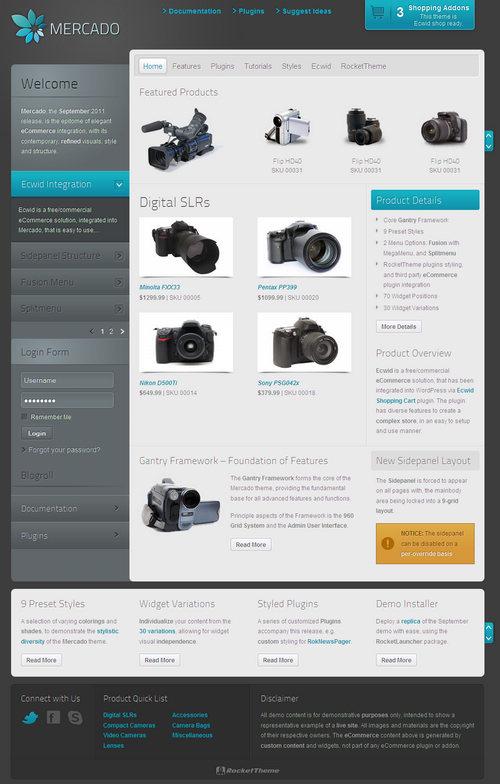 Mercado eCommerce WordPress Theme