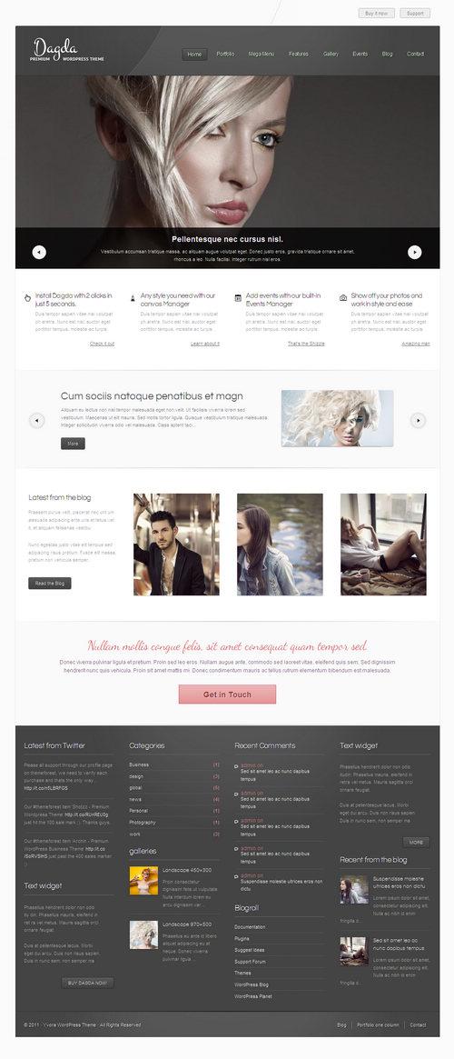Dagda WordPress Theme
