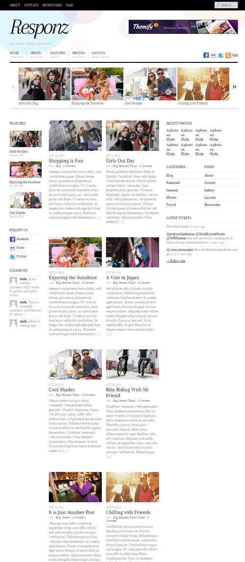 Responz WordPress Theme