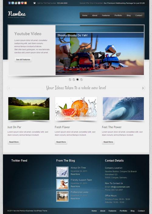 Newline WordPress Theme