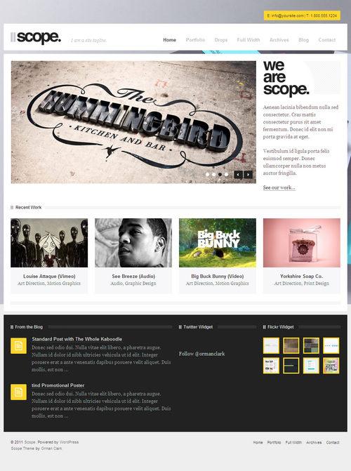 Scope WordPress Theme