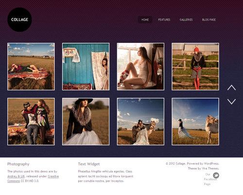 Collage WordPress Theme