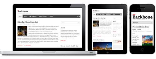 backbone responsive layout