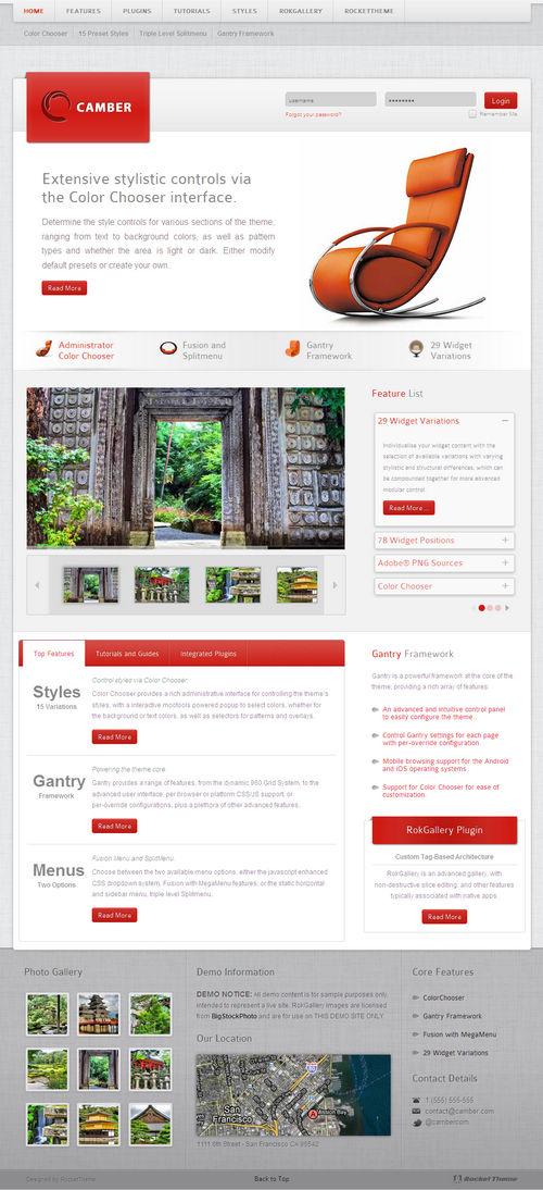 Camber WordPress Theme