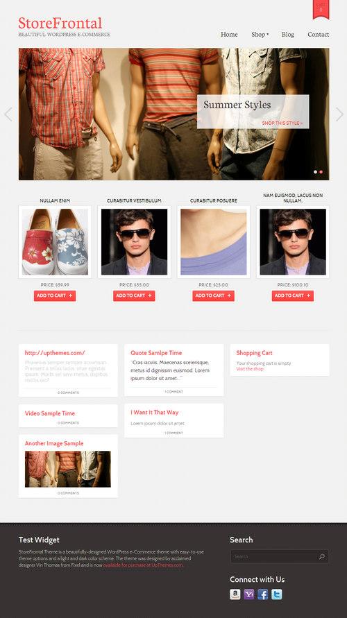 StoreFrontal WordPress Theme