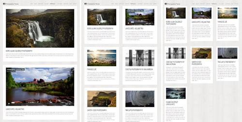 Photographer Theme Portfolio