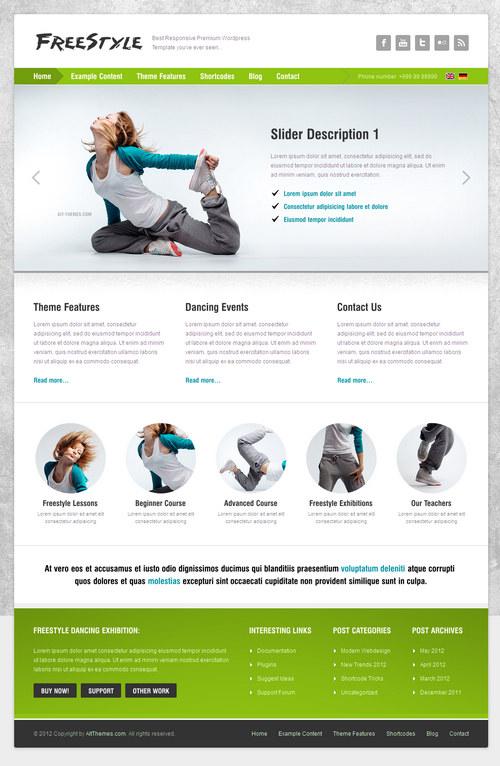 Freestyle WordPress Theme