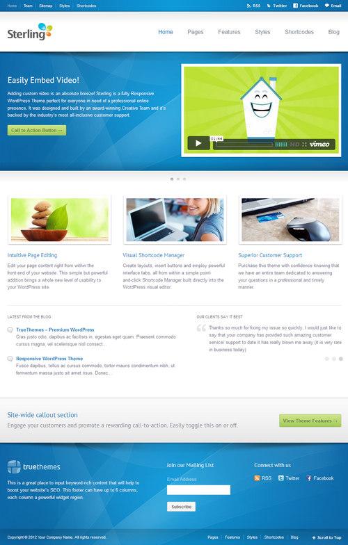 Sterling WordPress Theme