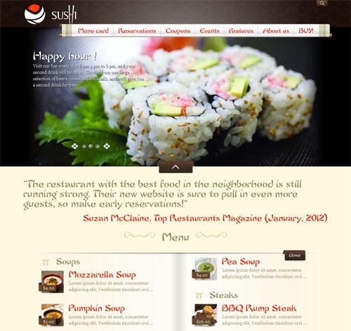 My Restaurant Theme - Asian Style