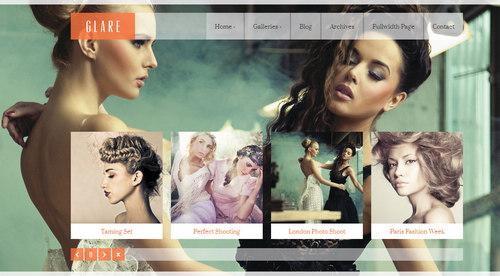 Glare WordPress Theme