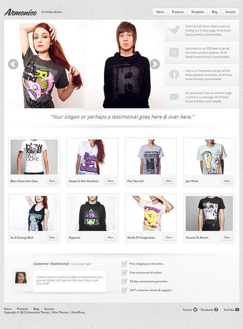 Armonico WordPress Theme