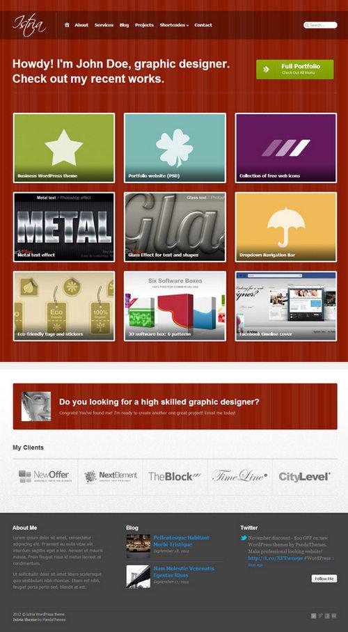 Istria WordPress Theme
