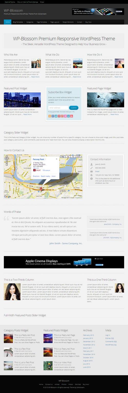 WP-Blossom WordPress Theme