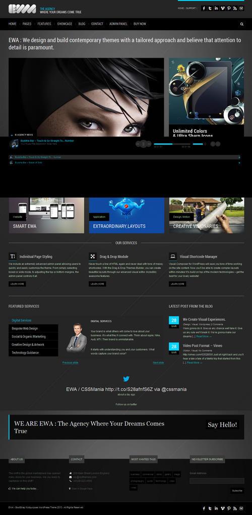 EWA WordPress Theme
