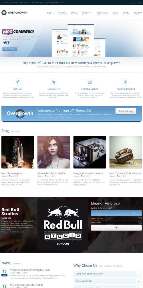 Overgrowth WordPress Theme