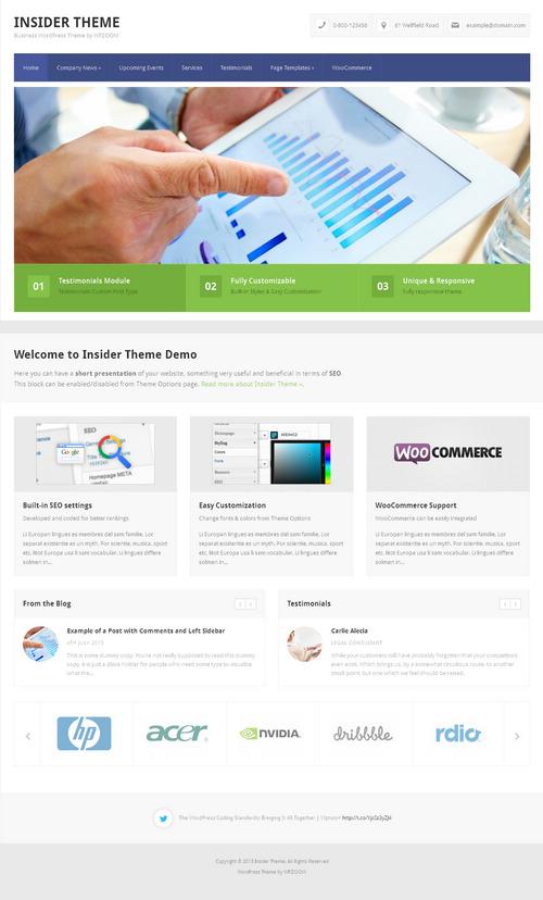 WPZoom Insider WordPress Theme