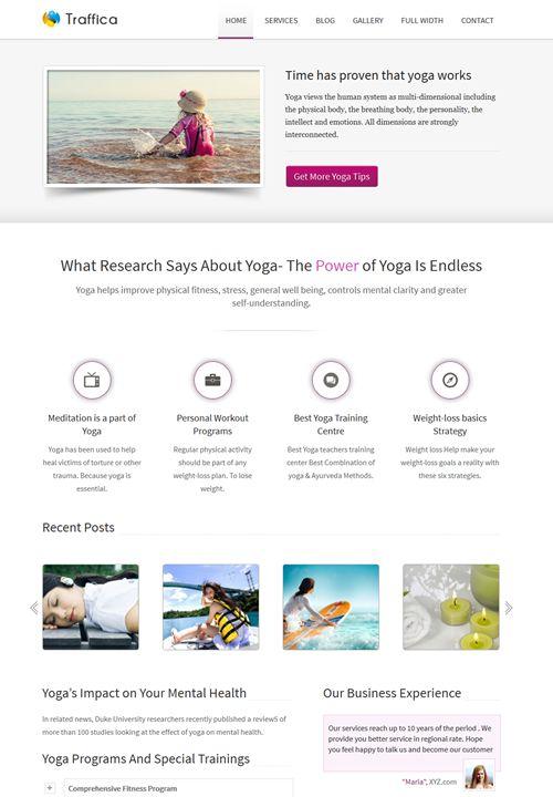 Traffica WordPress Theme