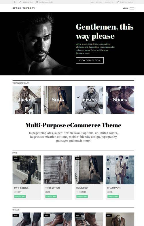 Retail Therapy WordPress Theme