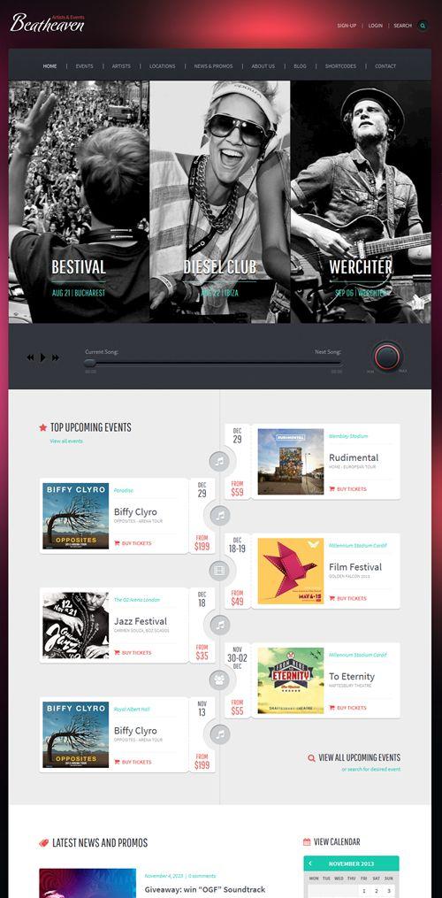 BeatHeaven WordPress Theme