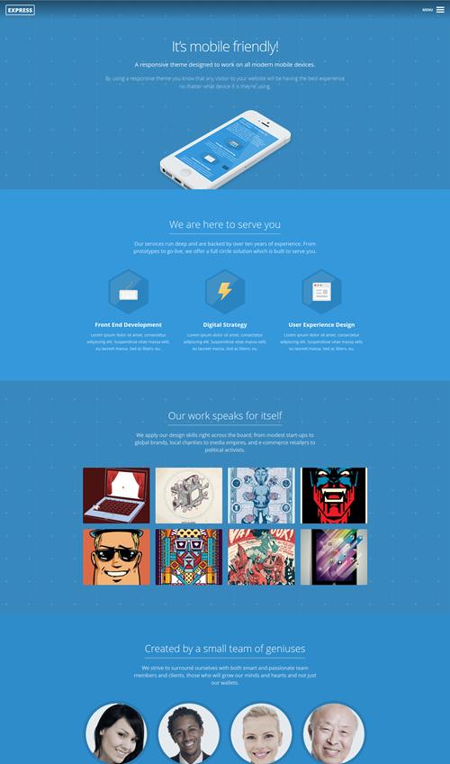 Express WordPress Theme